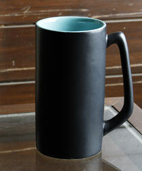 Tall Ceramic Milk Mug, for Home