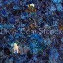 Electric Blue Labradorite Slab