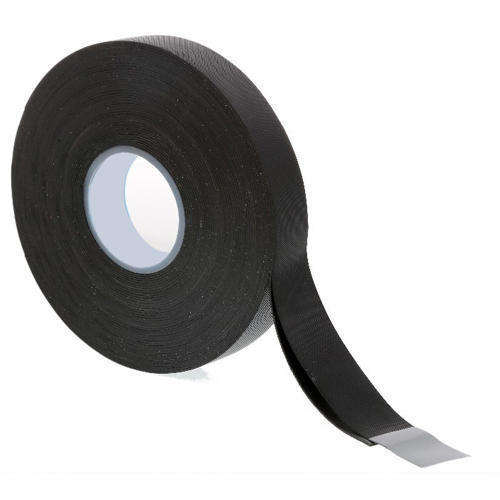 JONSON Black Rubber Cushion Tapes, For Sealing, Packaging Type: Carton