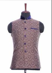 J952358-306 Princely Blue Waistcoat  Jacket