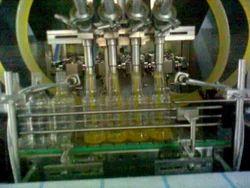 Sai Vaishnav Automatic Juice Filling Machine, Capacity: 35-40 Bottle Per Minutes, 5 Hp