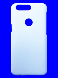 White Plastic 3D Sublimation Cover for One Plus 5T