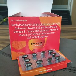 Methylcobalamin Alpha Lipoic Acid Folic Acid Vit B1& B6 Softgel Capsule