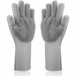 Silicone Safety Glove, Size: Free Size