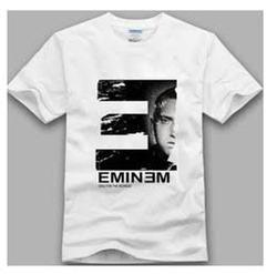 Polyester White T Shirt Printing Services