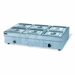 6TW Table Top Bain Marie Without Glass
