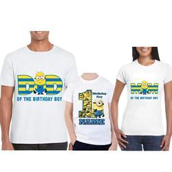Customized Minion Birthday Shirt