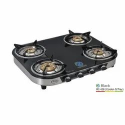 MC-428 Glass Four Burner Stove
