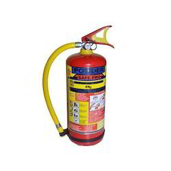 4 Kg Dry Powder Fire Extinguishers