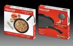 Nelcon Eco Flat 24cm Nonstick Tawa Pan For Cooking