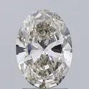 Oval Cut 1.72ct IGI Certified Diamond J VS2  Lab Grown Type2A