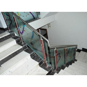 Stainless Steel And Glass Interior Stair Railings