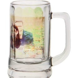 Glass Designer Beer Mug