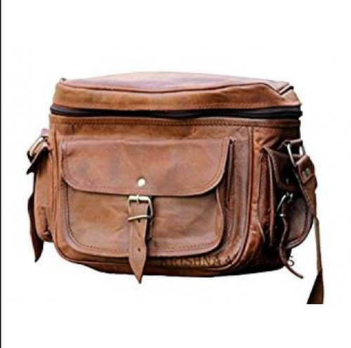 d03edb5124 Brown Pranjals House Vintage Fashionable Leather Camera Bag
