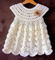 Plain Unisex Hand Crochet Baby Clothing