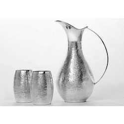 Stylish Silver Jug Set