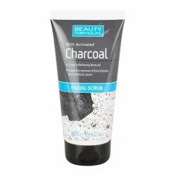 Herbal Beauty Formulas Charcoal Facial Scrub, Packaging Size: 100 Gm