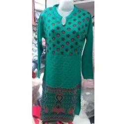 Diksha Full Sleeve Woolen Kurti