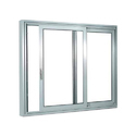Aluminium Rectangular Sliding Windows