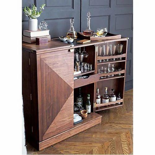 Charmant Steamer Bar Cabinet