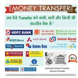Domestic Money Transfer Service Center and Agency