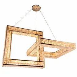 Brass Jaquar ARCTURUS Modern Crystal Chandelier Light