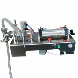 Single Nozzle Semiautomatic Pneumatic Liquid Filler Modelgc-A