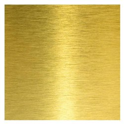Leaded Brass Sheet, Square, 4-10 Mm