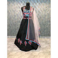 Black Ghagra Choli