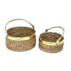 Wine Cane Basket