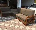 Teak Wood Corner Sofa For Home