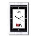 Black, White Analog Promotional Wall Clock