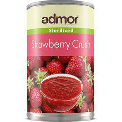 Admor Canned Strawberry Crush, Weight: 400 g