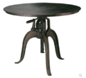 Industrial Cast Iron Crank Table