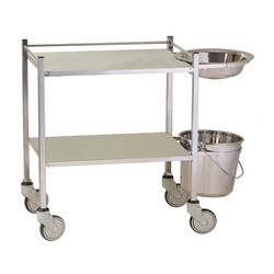 Hospital Stainless Steel  Trolley