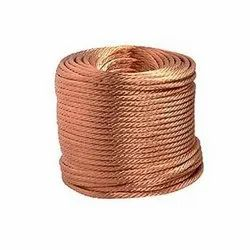 Bare Flexible Copper Wire Rope