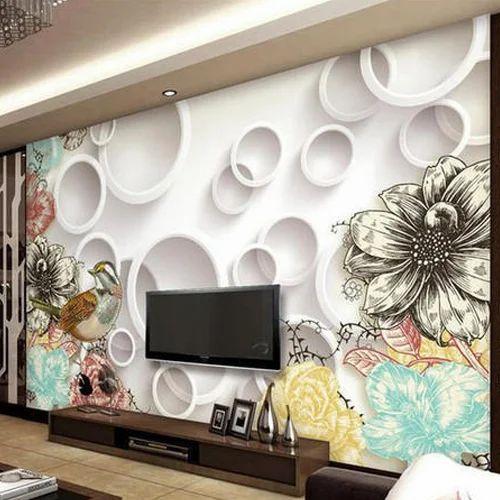 3d Wallpaper Grey 3d Wallpaper Wholesale Sellers From Mumbai