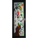 Painted Aluminium Glass Door