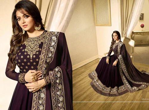 f86ebca2ca Casual And Wedding Wear Ladies Designer Georgette Salwar Suit, Rs ...