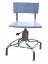 Tgpe Mirror/matt Pharma Stainless Steel Revolving Chair