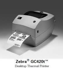 Zebra  Barcode Printer Gc-420