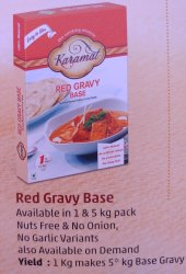 Basic Indian Karamat Red Gravy, Packaging Size: 1000gx12, Packaging Type: Box