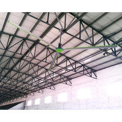 Silver Helicopter Fans - HVLS Industrial Fans - Alite 3
