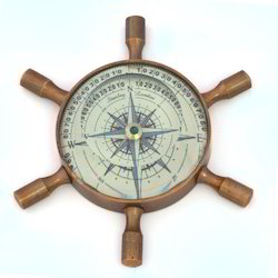 Wheel Design Floating Dial Compass 407