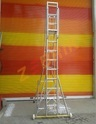 Aluminium Self Support Movable Extension Ladders