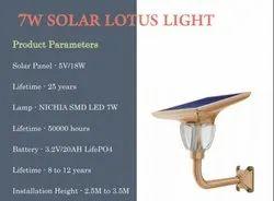 Solar Garden Lamp 7 Watts