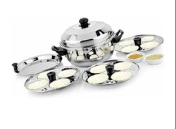 12 Idli Pot with Steamer Plate
