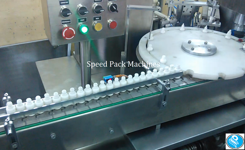Eye Drop Filling, Plugging & Capping Machine - Speed Pack Machines