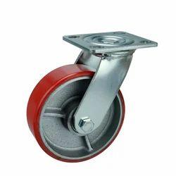 Speedo Red Cast Iron PU Bonded Wheels