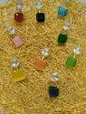 Colour Stone Studs